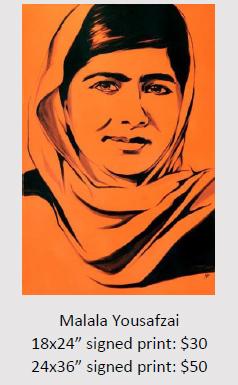 Malala Yousafzai - Rachel Dolezal