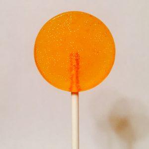 5 lollipops: Tangerine
