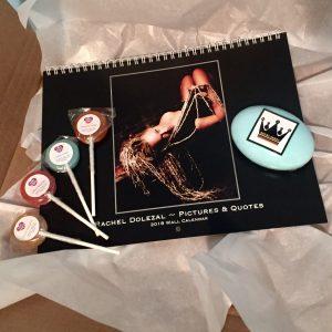 New Year Gift Bundle – 2018 Calendar, Shea Soap & Handmade Lollipops