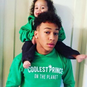 Coolest Prince On the Planet: Youth Hoodie