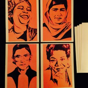 Women of Courage - Fine Art Greeting Cards
