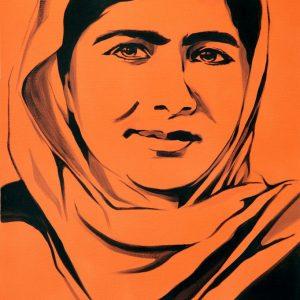 Malala Yousafzai: Signed print