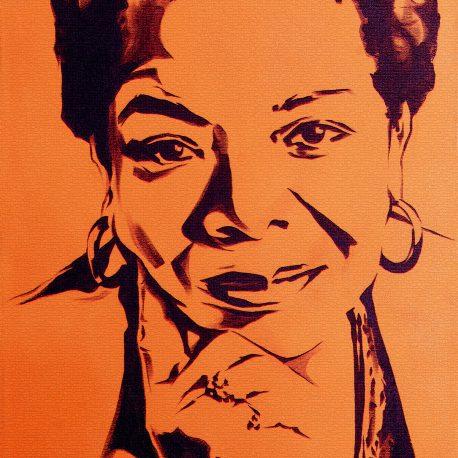 Maya Angelou - Rachel Dolezal
