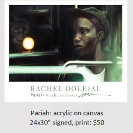 Pariah: Acrylic On Canvas - Rachel Dolezal