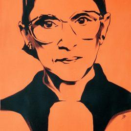 Ruth Bader Ginsburg - Rachel Dolezal