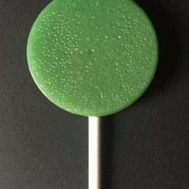 5 lollipops: Forest Mint