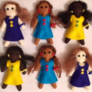 Melanin Spectrum™ Girl Dolls - Set of 3