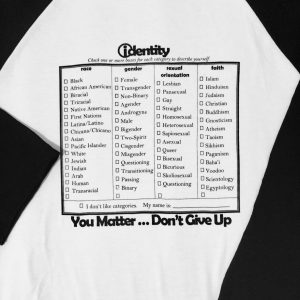 Xpress Yourself -Identity shirt to customize