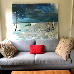 Megasize 6-foot stretched canvas print: Custom-made with ANY collage image