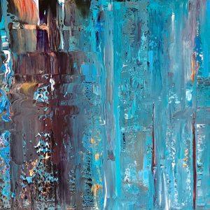 Gray Matter: ORIGINAL PAINTING on canvas
