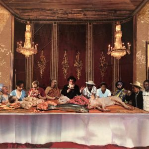 """""""Untitled"""" (The Last Supper) -signed/numbered print"""