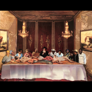 """Untitled"" (The Last Supper) -signed/numbered print"