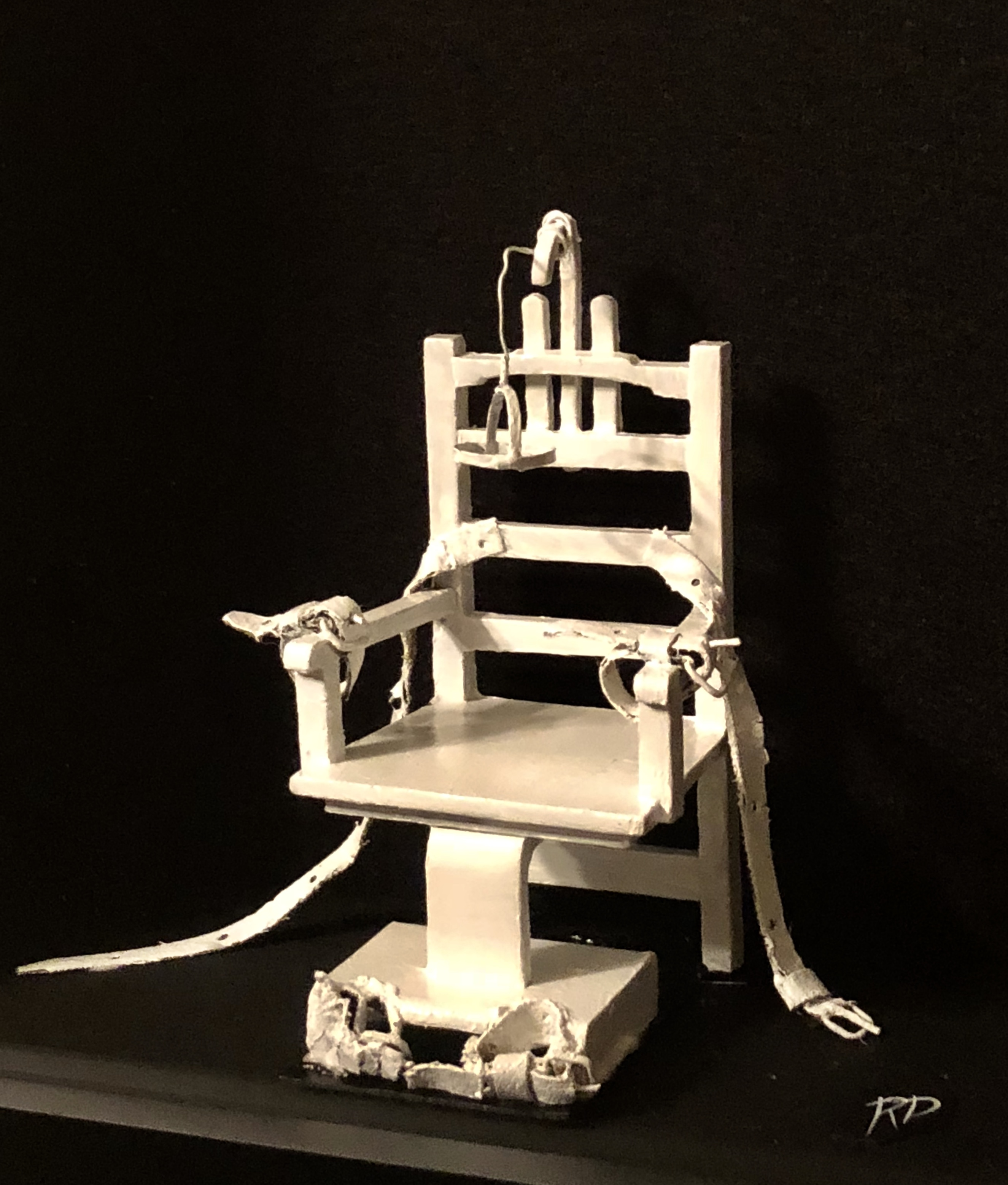 Whitewashed – ORIGINAL 3D art