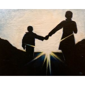 A Future Together ~ ORIGINAL acrylic painting on canvas