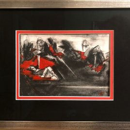Atonement: Original Framed Art