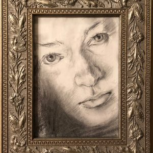 Self Portrait 1998: Original Framed Art