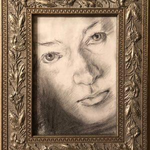 Self Portrait: Original Framed Art