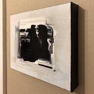 Mirror ~ ORIGINAL acrylic painting on canvas