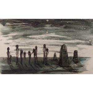 The Mourners – ORIGINAL artwork