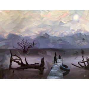 """""""Shadowland"""" ORIGINAL fine art"""