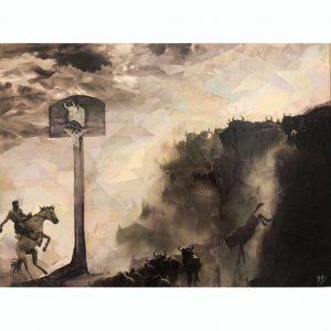 Death By Mascot – ORIGINAL art
