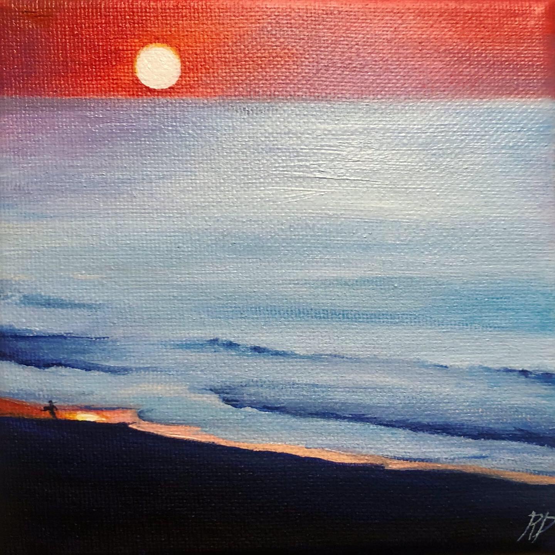 Myrtle Beach ~ ORIGINAL painting on canvas