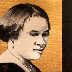 Madam C.J. Walker ~ ORIGINAL painting on canvas