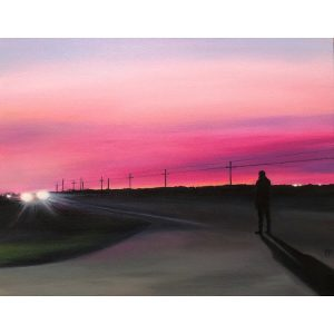 Crossing – ORIGINAL painting on canvas