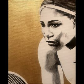 Serena ~ ORIGINAL painting on canvas