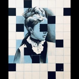 Josephine ~ ORIGINAL painting on canvas