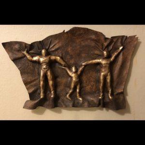 Royal Family - ORIGINAL Elk Hide Sculpture
