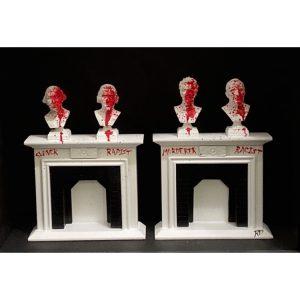 Truth be Told - ORIGINAL framed 3D mixed media art