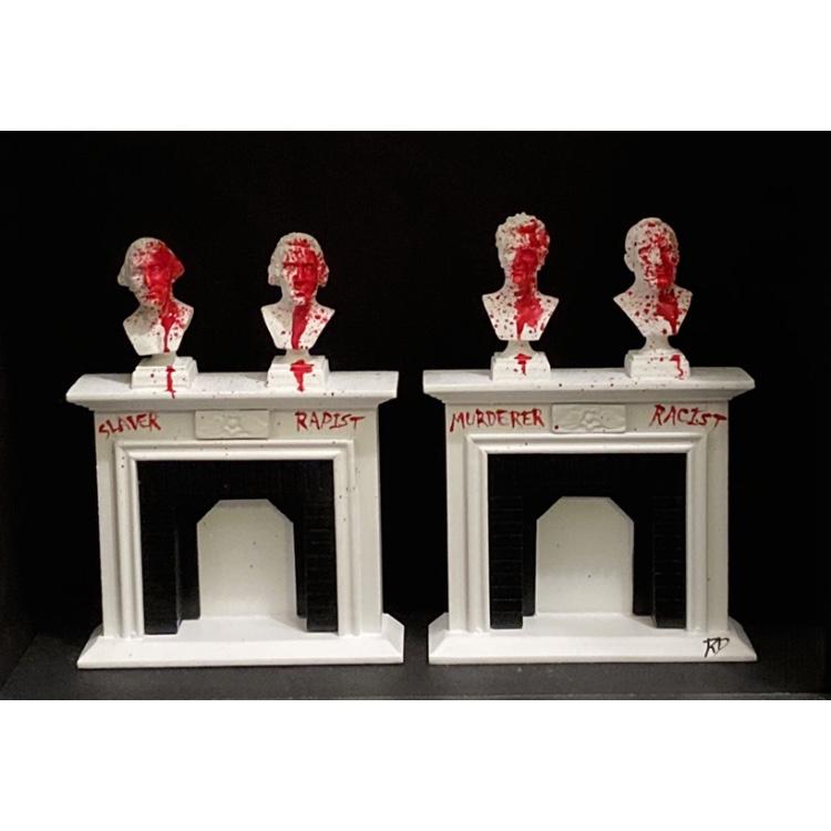 Truth be Told – ORIGINAL framed 3D mixed media art