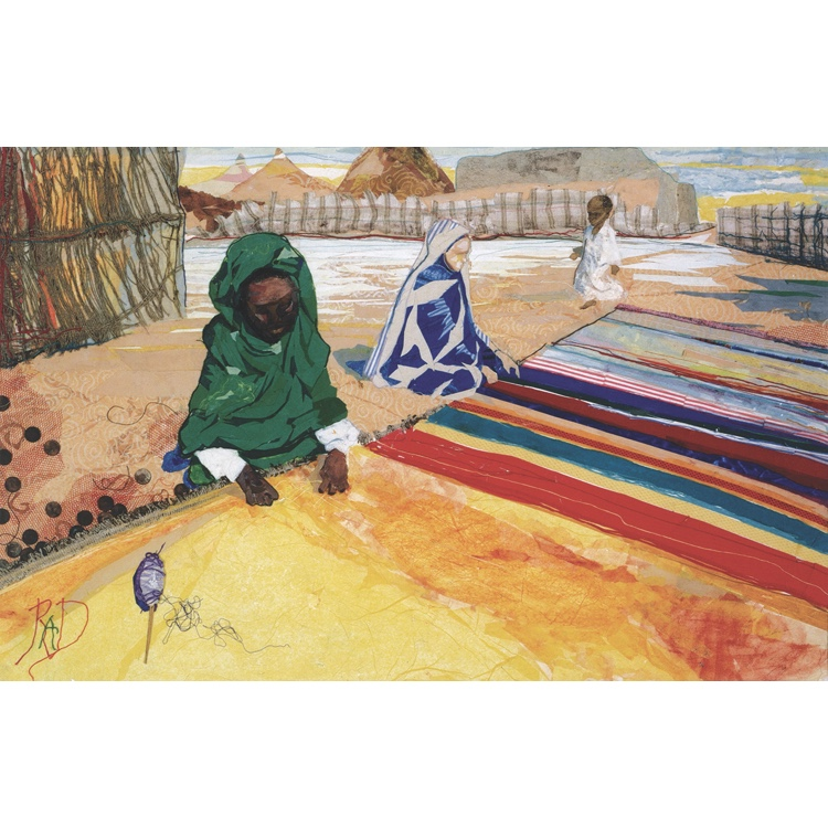 Weaving Two Worlds – Signed Print