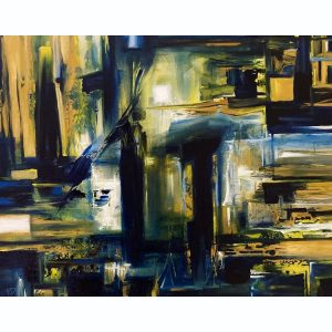 Three Decisions ~ ORIGINAL painting on canvas