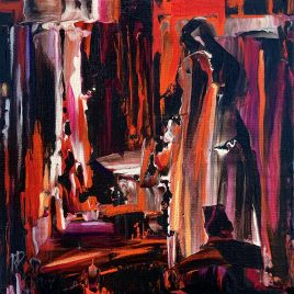 Housework ~ ORIGINAL painting on canvas