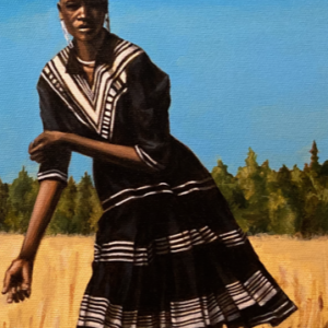 Migration – Framed ORIGINAL painting on canvas