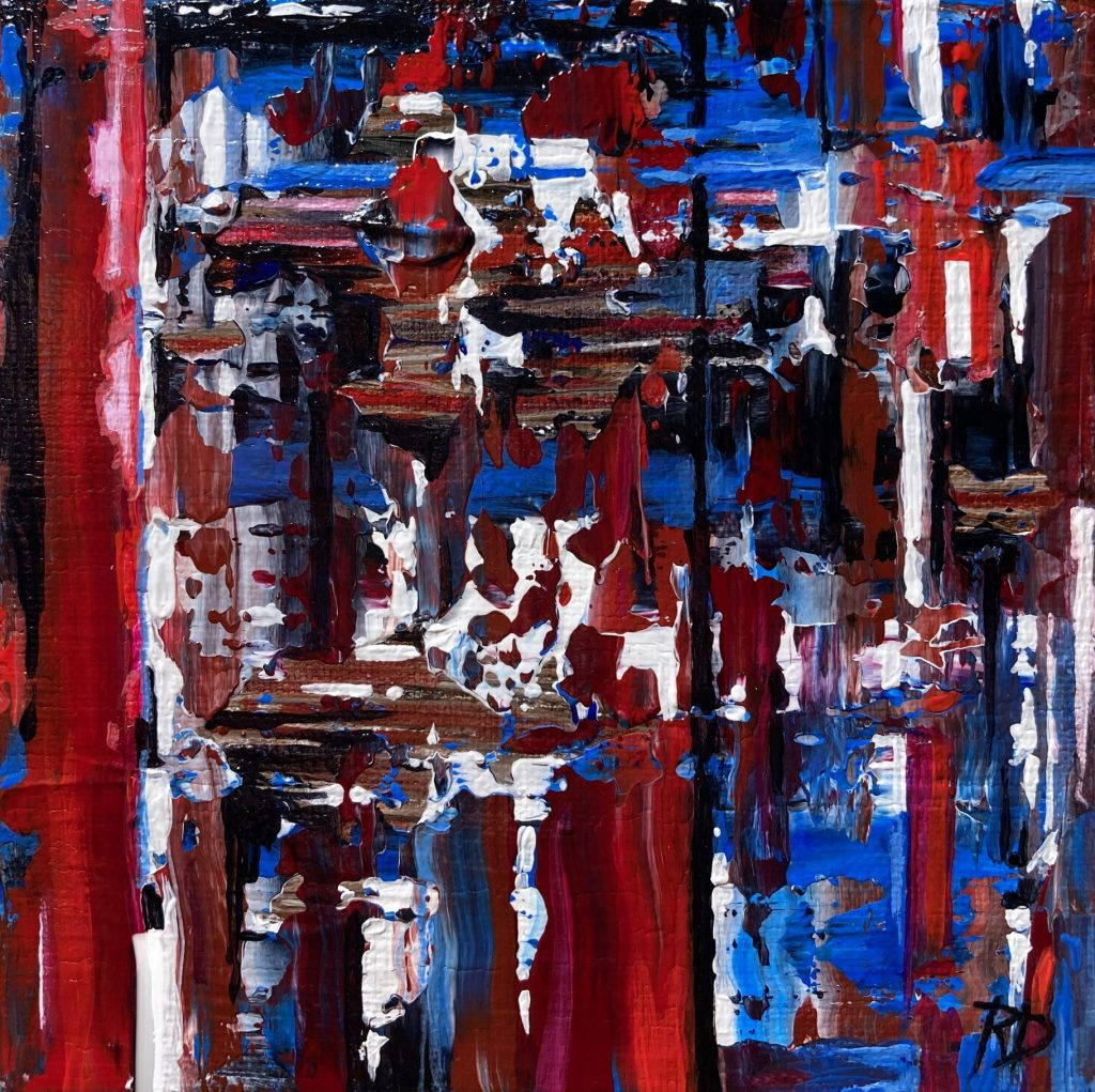Undecided Voter ~ ORIGINAL painting on canvas